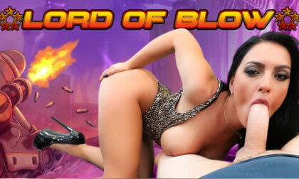 Lord of Blow - Huge Tits Pornstar POV VR Blowjob