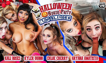 Halloween House Party: Cum-Slinger