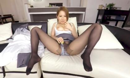 Erika Kitagawa – Lewd Office Lady Pantyhose JOI Leads to Sex Part 1