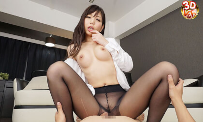 Yuki Jin – Lewd Office Lady Pantyhose JOI Leads to Sex Part 2