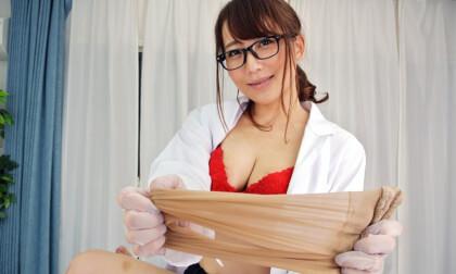 Mao Kurata – Beautiful Female Doctor Home Visitation Part 1