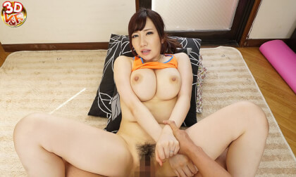 Miina Wakatsuki – Exercising Voluptuous Mother-in-Law in Tight-Fitting Training Wear Part 2