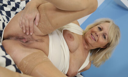 Koko With Toy - Mature Blonde GILF Solo Masturbation