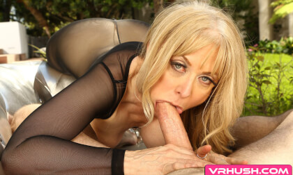 From The Vault: Nina Hartley; Mature Porn Star Blowjob and Sex POV VR HD