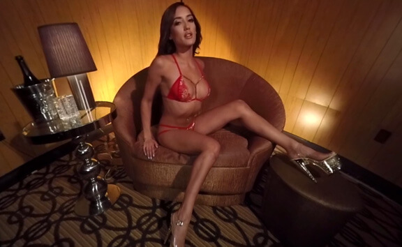Chloe Amour Private Dance - Lingerie Solo Model Lap Dance