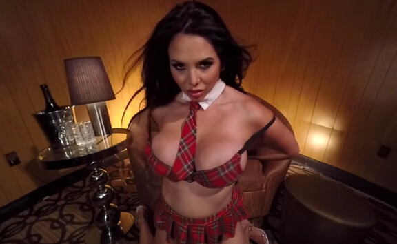 Missy Martinez - Private Lap Dance - Naughty Schoolgirl Stripper