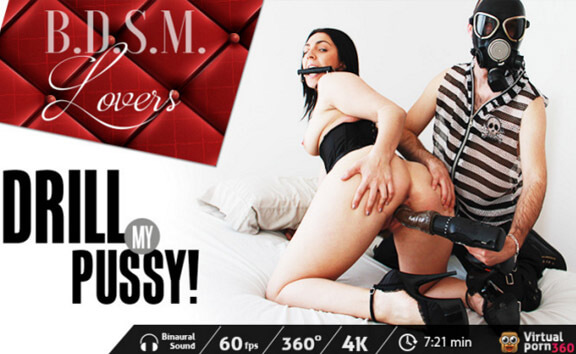 BDSM Lovers: Drill My Pussy!