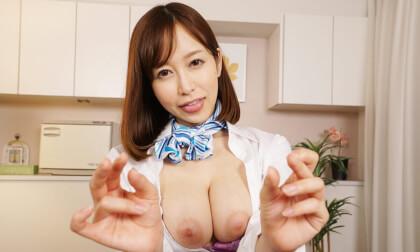 Yuu Shinoda – Masturbation Support with Creampie Sex Part 2