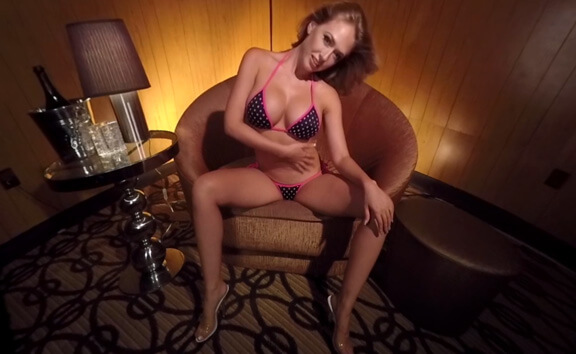 Kagney Linn Karter - Private Dance - 3D - Busty Solo Model Striptease