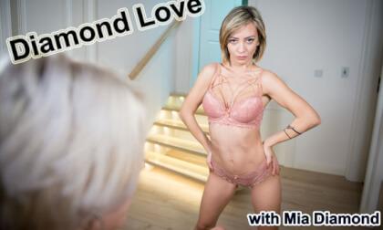 Diamond Love - Female POV Lesbian VR MILF