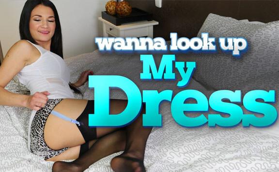 Wanna Look Up My Dress?