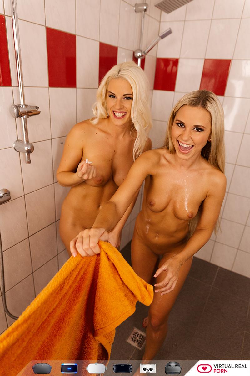 Public shower porn