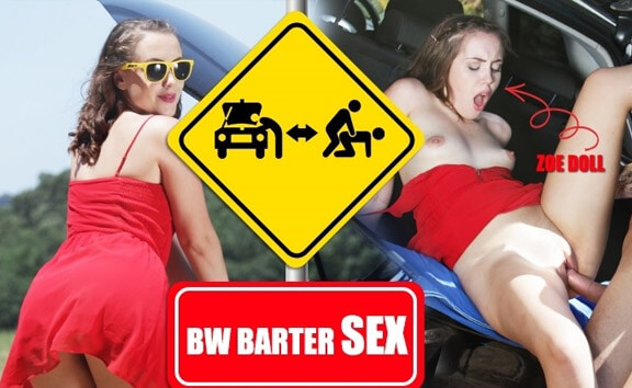 BW Barter Sex - Teen Outdoor Sex in Car