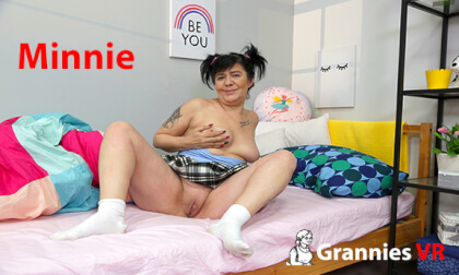 Minnie in the Bedroom