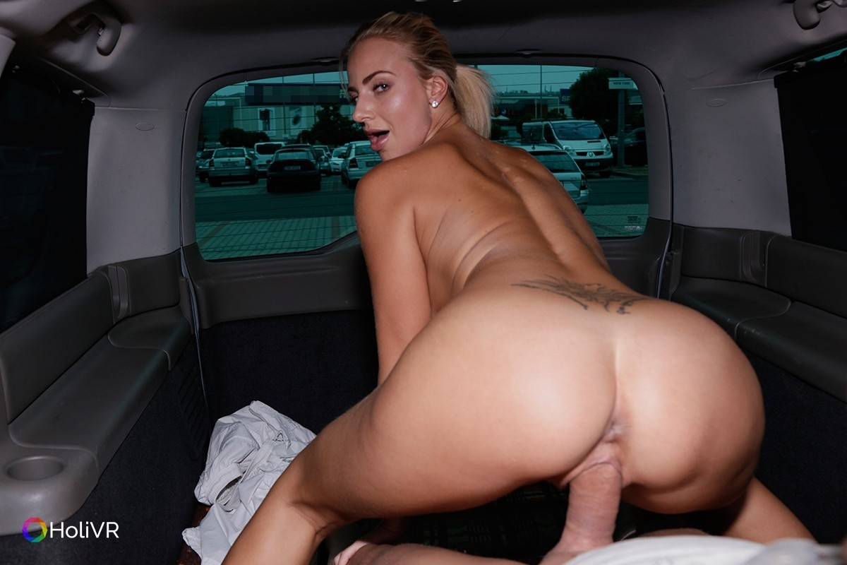 Porn sex in car