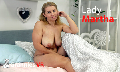 Lady Martha Solo - Mature Granny Fingering