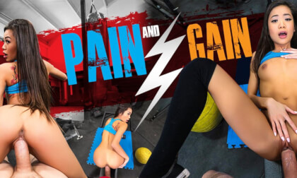 Pain and Gain - Sexy Asian Babe at the Gym