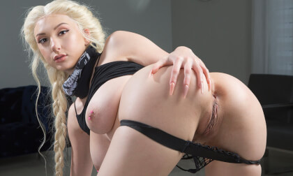 Hot Robbery 3: Mistake of $kylar Vox; Busty Blonde Babe Busted in the Act