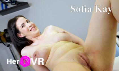 Sofia Kay - First VR Casting