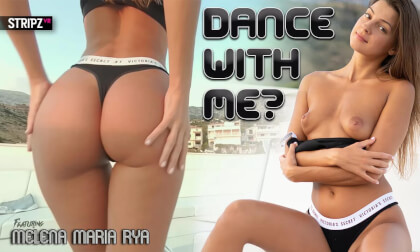 Dance with Me - Beautiful Young Babe Solo Striptease and More