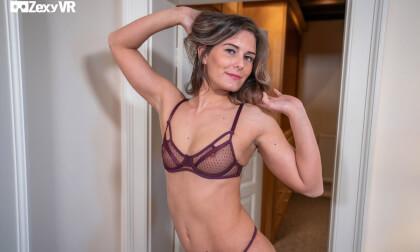 Help Me Choose - Lingerie Striptease Small Tits