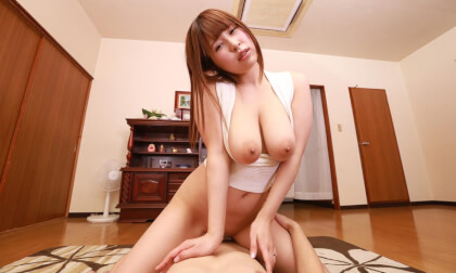 Mikuru Shiiba – Young, Big Tits Married Neighbor Is Desperate while her Husband is Away - Busty Asian MILF Riding