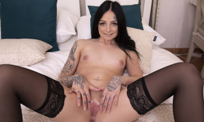 Do You Like My Sexy Lingerie - Nylons Striptease Solo Model