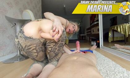 Marina Anal Desires - Blowjob Toying Anal Fucking