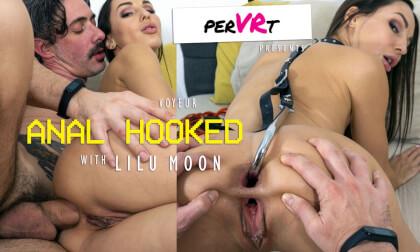 Anal Hooked - Voyeur; Amateur Babe Hardcore 3D Porn