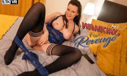 Wanking For Revenge - Busty British Babe Solo
