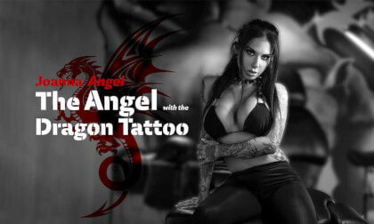 The Angel with the Dragon Tattoo - Hardcore Anal SLR Original with Stunning Babe