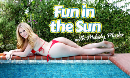 Fun in the Sun (Fisheye 200°) - Blonde Teen Virtual Girlfriend Ultra High Quality Virtual Reality Porn HD