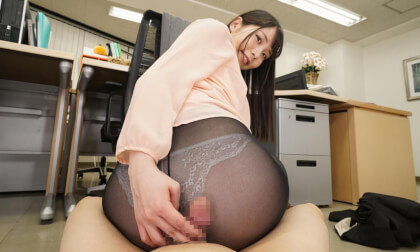 Satsuki Aizawa – Beautiful Legs and Beautiful Asses Pantyhose Ripping VR