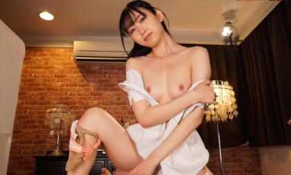 Sumire Kurokawa – You Fuck a Massage Parlor Slut while your Girlfriend Gets a Massage; Small tits Japanese masseuse