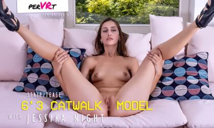 Catwalk Model Striptease