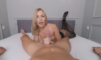 Ruined Orgasm by Angelika Grays - Amazing Edging Blowjob from a sexy Blonde Porn Star