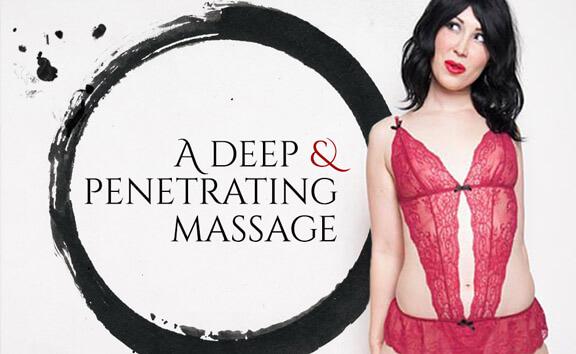 A Deep And Penetrating Massage - Skinny Blonde Erotic Massage