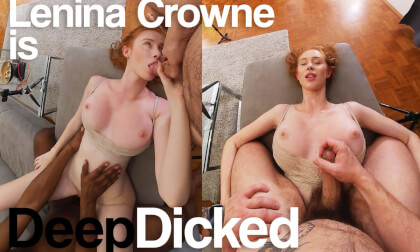 Deep Dicked - Volume Three; Interracial MFM Threesome with Redhead Amateur