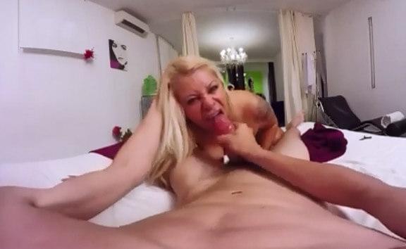 Alexa Blume's best blowjobs and deepthroats to Kevin's big dick