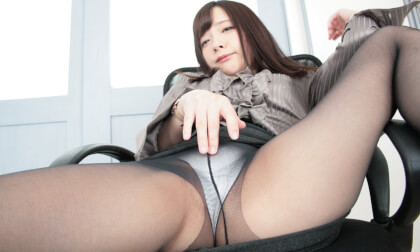 Wet Black Pantyhose Seduction - Collection of Japanese Babes in Pantyhose