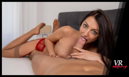 You Are Katy's Toy for Today - Brunette Blowjob Handjob