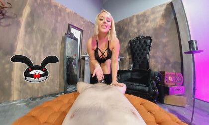 Locked Cock Chronicles - 180 - 3D - VR Edition - Volume 3 - Alexis Monroe; Busty Blonde Babe Teasing Your Chastity Cock