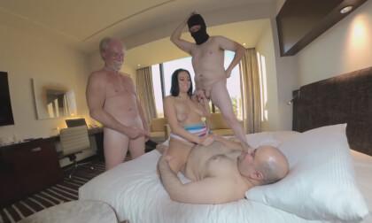 Zoey Foxx Gangbang Part 2 - Sweet Busty Teen Amateur Group Sex 3D Porn