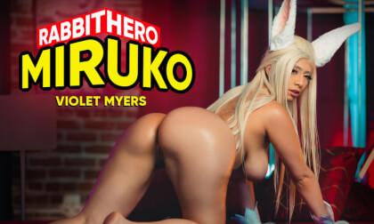Rabbit Hero Miruko - Hot Pornstar in Sexy Cosplay with Big Tits