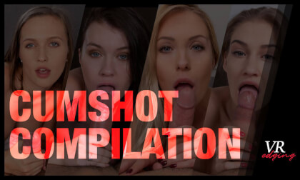 Cumshot Compilation - Edging Compilation with Busty Pornstars