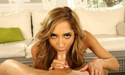 Chloe Amour Is Ready To Please; However You Want It - Shaved Blonde Hardcore