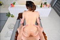 VR Porn Saya Minami – High Class Soapland: Fair-skinned Mistress with a Voluptuous Ass