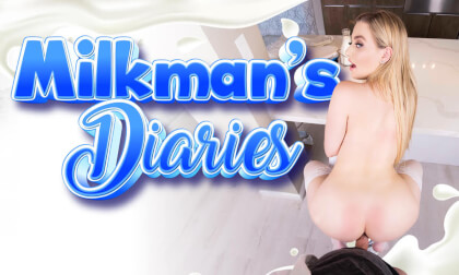 Milkman's Diaries - Fucking a Blonde Big Tit Cheating Housewife