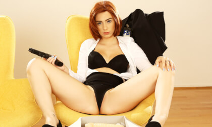 The Sex Files - Redhead Cosplay and Toying