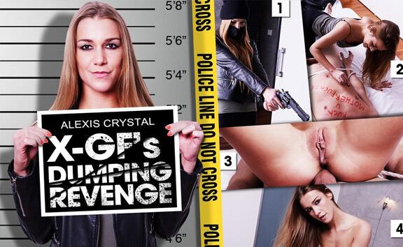 X GF's Dumping Revenge - Redhead Bondage Humiliation